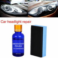 HOT 9H Hardness Auto Car Headlight Len Restorer Repair Liquid Polish Cleaning