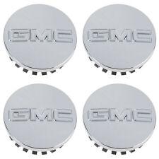 OEM NEW Wheel Hub Center Caps Set of 4 Chrome w/ Logo 09-18 GMC 19164998