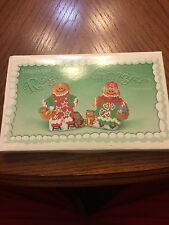 LONGABERGER 2000 POTTERY ROGER & GINGER SET COOKIE MOLD! NEW IN BOX! FAST SHIP