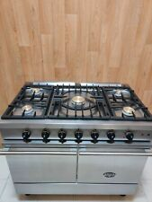 LACANCHE WESTAHL 100 DUAL FUEL RANGE COOKER IN STAINLESS STEEL. REF--A133