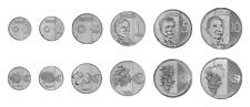 Philippines Set of 6 Coins, 1 5 25 Sentimos 1 5 10 Piso, UNC, 2017 2018