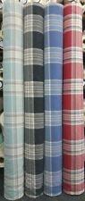 Polycotton Checked Upholstery Craft Fabrics