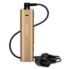 Sony SBH54 Stereo Bluetooth Wireless Handset Headphones Earphone FM Radio Gold