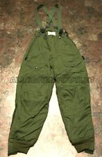 Military Trousers, EXTREME COLD WEATHER F1B Pants size 28 SMALL w Suspenders NEW