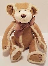 "Bath & Body Works Plush Gingerbread Bear 11"" Stuffed animal EUC"