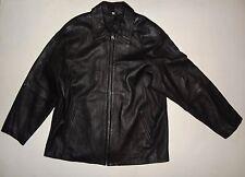 Men's L, 100% Leather Zip-up Jacket by Field Gear!