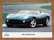 Original JAGUAR XK180 CONCEPT CAR Press Photo c1999