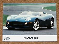 Original JAGUAR XK180 CONCEPT CAR Press Photo c1999
