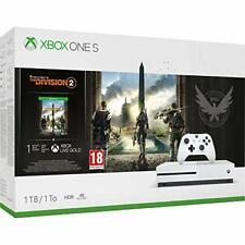 Microsoft Xbox One S 1tb Console & The Division 2 Bundle