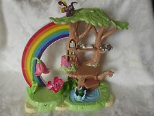 Disney Tinkerbell Great Fairy Rescue PIXIE POWER PLAYSET Rainbow Doll Tree House