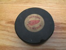 70s DETROIT RED WINGS (Official Art Ross Converse National) GAME USED Puck #1
