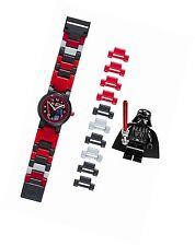 Lego Star Wars Darth Vader Niños Reloj con banda Minifigura ** nuevo **