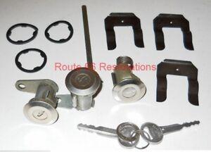 1967 1968 1969 1970 1971 1972 1973  Mustang Ford Door Trunk  Lock Set 2 Keys