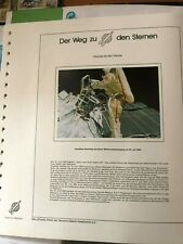 """""""Der Weg zu den Sternen"""": Frauen im Weltraum, Sammlung auf Vordruck, Fa. Lindner"""