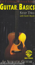 Guitar Basics Step Two: Acoustic (VHS, 1995) Video Tape Brand New Sealed