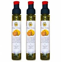 3x Olio al Tartufo Bianco Extravergine di Oliva Sicilia 80ml + 1gr condimento ar