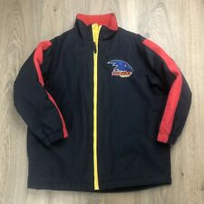 AFL Adelaide Crows Kids Jacket Parka Sz 8 EUC