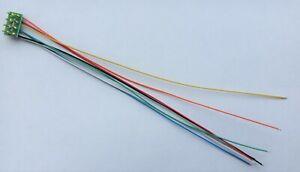 LaisDcc 8 Pin Male NMRA Plug NEM652 with wires Part No.860047 DCC