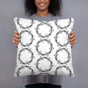 Black & White Decorative Pillow