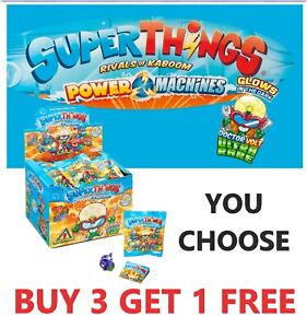 Superzings SUPERTHINGS POWER MACHINES DOCTOR VOLT, GOLD, SILVER *YOU PICK*