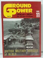 Ground Power Magazine Book WWII Tank Vehicles Photos Japan #18 November 11 1995