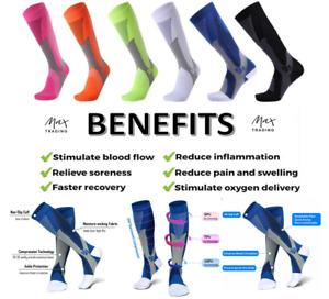 High Performance Compression Cycling Running Calf Support Sport Flight Socks