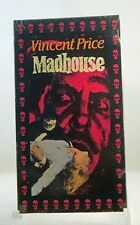 Madhouse - (VHS, 1974 Film, Vincent Price) FACTORY SEALED