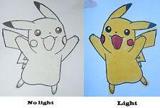 10g Yellow photochromic pigment sunlight UV will turn Yellow from white