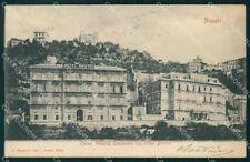 Napoli città Corso Vittorio Emanuele Hotel Bristol cartolina VK4351