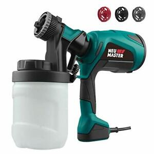 Electric Easy Paint Spray Gun Painter HVLP Zoom Through House Painting Jobs US