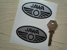 """JAWA Motorcycle STICKERS 3"""" Pair 250 350 Czech Speedway CZ ESO Motorcycle Race"""