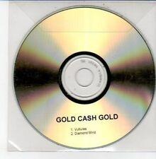 (DD680) Gold Cash Gold, Vultures / Diamond Mind - DJ CD