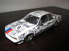 BMW 635 Csi Gr.A,Quester/Stuck,weiß,No. 8,1:43,PMA/MInichamps