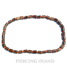 Surfer Halskette Kette dehnbar Tribal Maori Holz Design N053