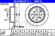 Bremsscheibe (2 Stück) - ATE 24.0109-0111.1