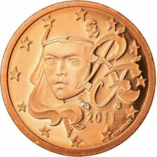 [#722785] Frankrijk, Euro Cent, 2011, BE, FDC, Copper Plated Steel, KM:1282