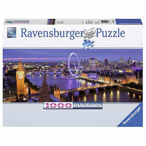 Ravensburger : Londres la Nuit 1000 Pièce Panorama Puzzle Neuf