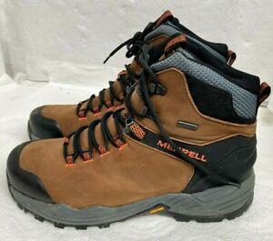 Merrell Men's Phaserbound 2 Tall Waterproof Hiking Shoe, Dark Earth, 10.5 M US