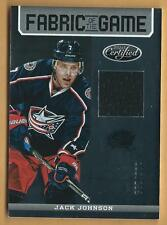 SP JACK JOHNSON CERTIFIED FABRIC OF THE GAME SERIAL NUMBERED