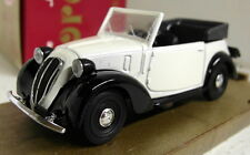 Brumm 1/43 Scale R83 Fiat 508C Cabriolet 1100 1939 White Diecast Model Car