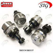 Front Upper & Lower Ball Joints Suspension Set for Jeep Grand Cherokee 1993-2004