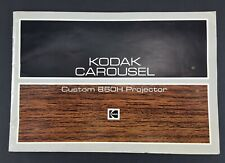 KODAK Carousel Custom 860H Slide Projector Instruction Manual