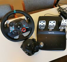 Logitech G29 Steering Wheel with Pedals and Gear Stick Shifter PC PS4 Racing
