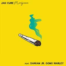 "Jah Cure Featuring Damian Jr. Gong Marley - Marijuana 7"" .45 Alborosie NEW Vinyl"