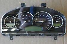 OEM Factory 04-06 Pontiac GTO Instrument Gauge Cluster Speedometer Holden Monaro