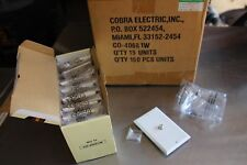 Coaxial Wall Plate F Jack White DECOR Coax white 40681W ( CASE OF 150 )