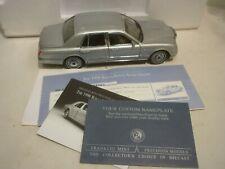 Franklin mint  1998 Rolls Royce silver seraph  Boxed,