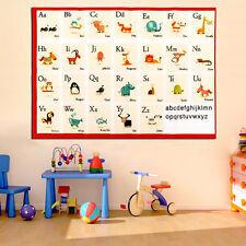 "Children Education Alphabet Animal Kids Learning English Teaching 20""x14"" Poster"