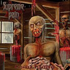 "SUPREME PAIN ""Cadaver Pleasures"" death metal CD"