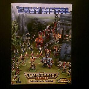 'eavy Metal Warhammer 40K Miniature Painting Guide 1994 Games Workshop Heavy